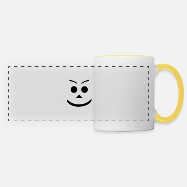 Grinning grin - Panoramic Mug