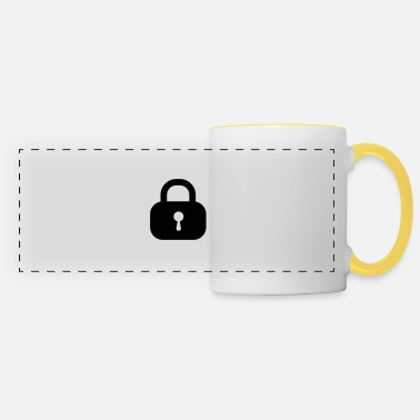 Closing lock closed - Panoramic Mug