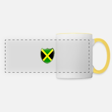 Jamaica Jamaica (coat of arms) - Panoramic Mug