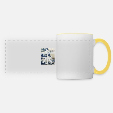 Great Hokusai Great Wave - Panoramic Mug