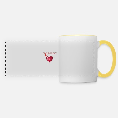 FATHER'S DAY - FATHER'S DAY - With LOVE - Panoramic Mug