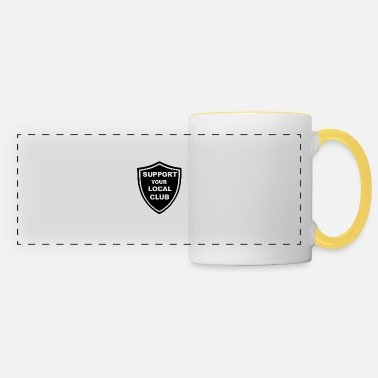 Support your local club - Against Modern Football - Panoramic Mug