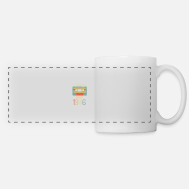 Retro Tape Vintage May 1946 75th Birthday 75 Year Gift - Panoramic Mug