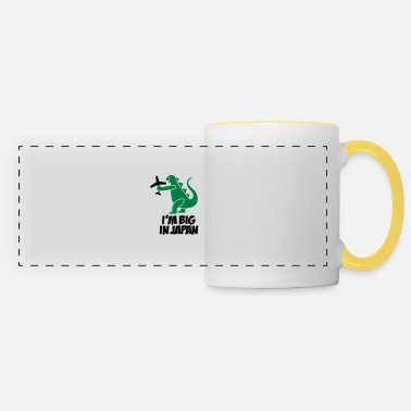 Japan I'm big in Japan - Godzilla - Panoramic Mug