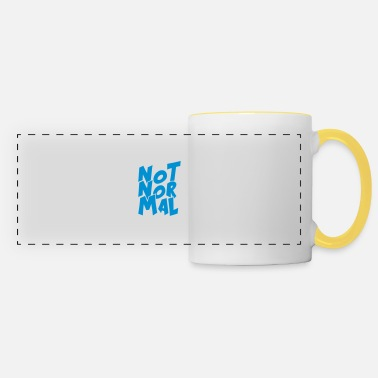 Normal Not Normal - Panoramic Mug