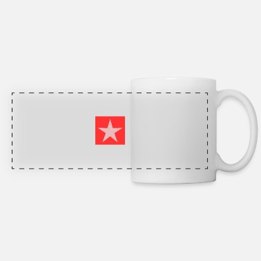 Merry Xmas Star. Star. Stars. Party. Birthday. Christmas. - Panoramic Mug