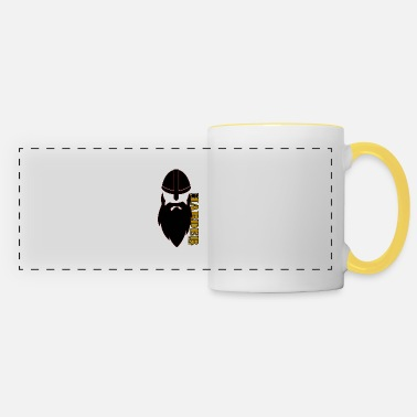 HARDER designs - big viking avec barbe - Mug panoramique