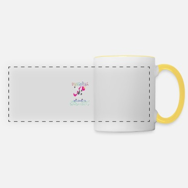 Born In Born Unicorns-Born February - Panoramic Mug