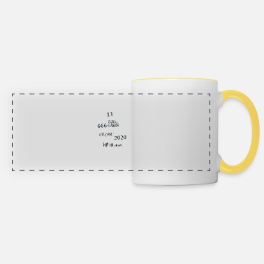 13 666 2020 year number worst humor 2 Q - Panoramic Mug