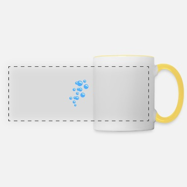 Blasen Blasen / bubbles (2c) - Panoramic Mug