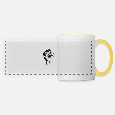 Fist fist - Panoramic Mug