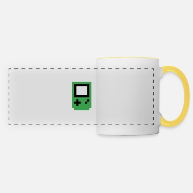 Console green console - Panoramic Mug