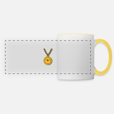 Clock clock chain - Mug panoramique