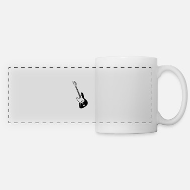 E-guitar E guitar - Panoramic Mug