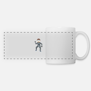 Skeleton Costume Skeleton costume - Panoramic Mug