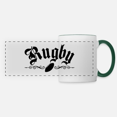 Rugby Rugby - Mug panoramique contrasté et blanc