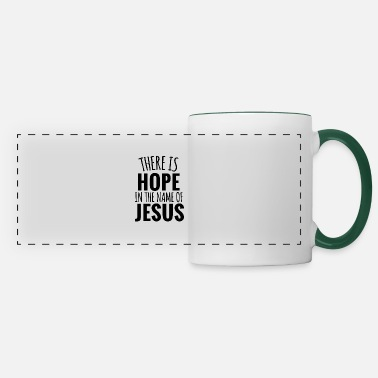 Hope in Jesus Christ God Bible Christian - Kubek panoramiczny