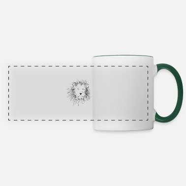 Lion Head Lion lion head - Panoramic Mug