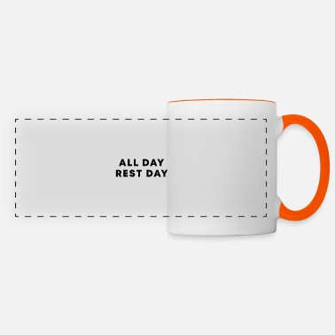All day rest day - Panoramic Mug