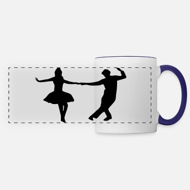 Dance Couple dancing couple - Panoramic Mug