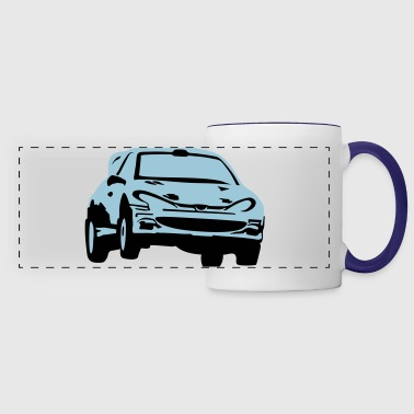 Rally car, race car - Panoramic Mug
