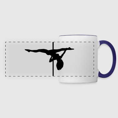 Pole dance, pole dancing - Panoramic Mug