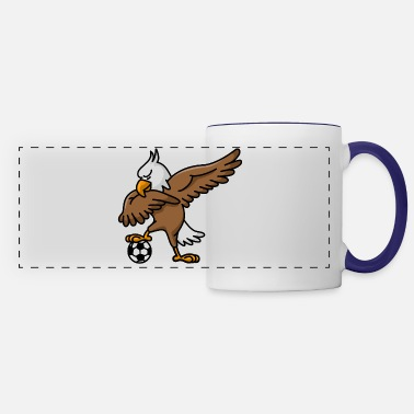 National &amp Dabbing dab American Eagle soccer football - Panoramic Mug