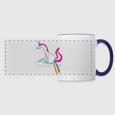 Unicorn pooping rainbow - eenhoorn - Panoramamok