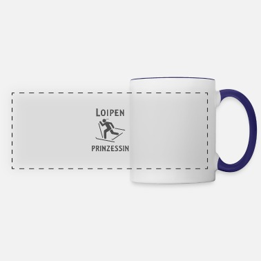 Princess ski and winter sports trails - Panoramic Mug