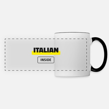 Italian Inside - Panoramic Mug