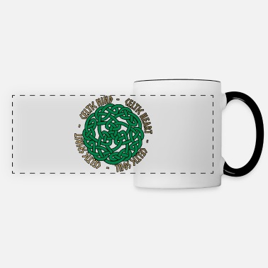 Celtic Celtic Heart - Celtic Soul - Celtic Spirit - Mug panoramique