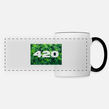 420 Stoned HeavyRock Band Weed Design Geschenk - Panoramatasse