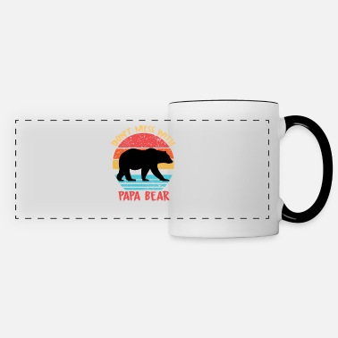 Don't Mess With PAPA BEAR - Father's Day Gift - Panoramic Mug