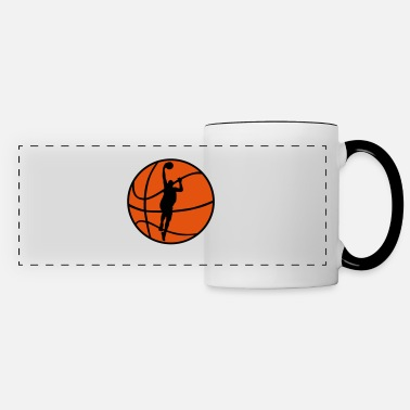 Basketball Player Basketball & Basketball Player  - Panoramic Mug