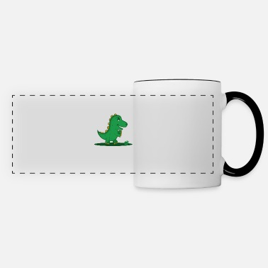 Grenade T-Rex hates grenades Dinosaurier-Fan Gift - Panoramatasse