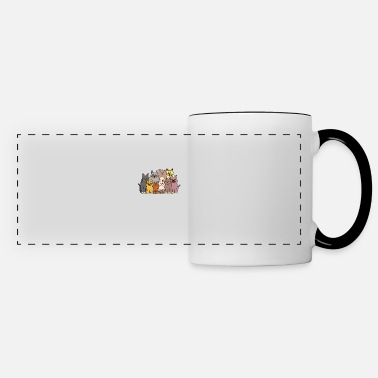 Every life beautiful cats love gift kittens - Panoramic Mug