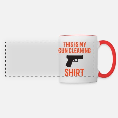 Guns GUNS: Gun Cleaning - Panoramic Mug