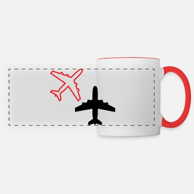 Airplane airplanes - Panoramic Mug