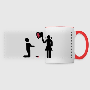 Cut off dick - Panoramic Mug
