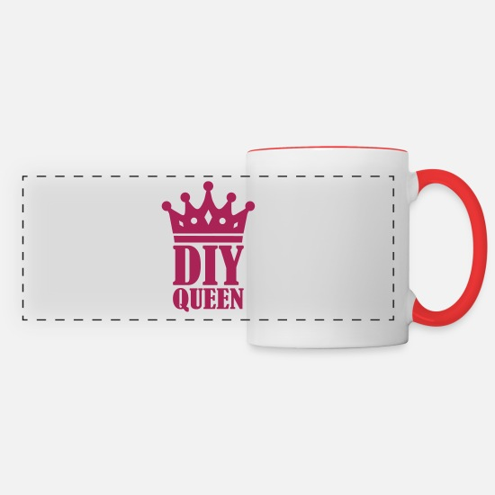 Diy Mugs & Drinkware - DIY - Panoramic Mug white/red