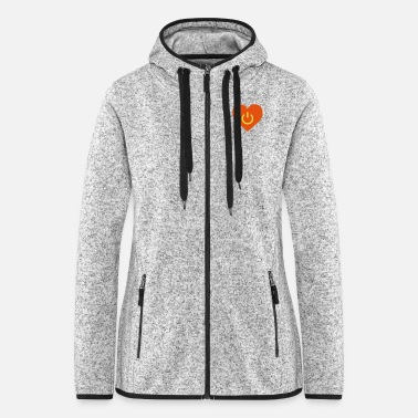 Pregnant power of love v2 - Women's Hooded Fleece Jacket
