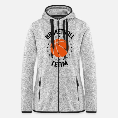 Offensive Basketball Team - Frauen Fleece Kapuzenjacke