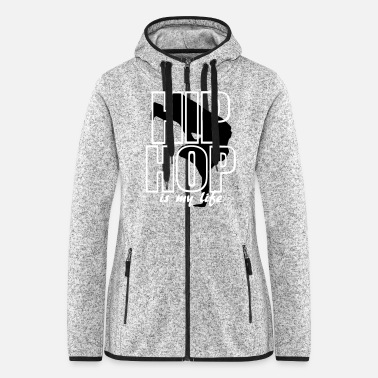 Break Dance break dance - Women's Hooded Fleece Jacket