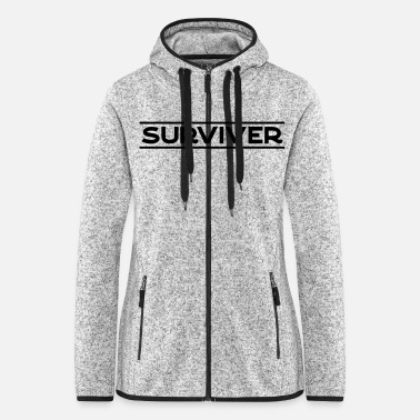 Apocalypse surviver - Women's Hooded Fleece Jacket