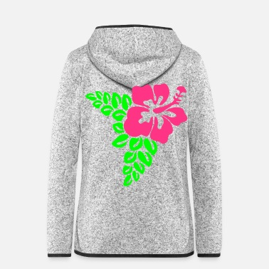 Hawaii Hawaii hibiscus blossom flower - Women's Hooded Fleece Jacket