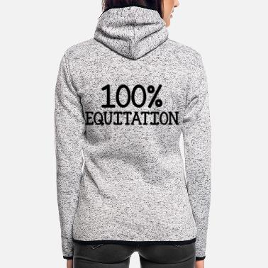 Equitation 100% Equitation - Women's Hooded Fleece Jacket