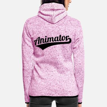 Animal Animator - Women's Hooded Fleece Jacket