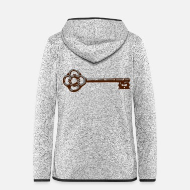 Ancient ancient key - Women's Hooded Fleece Jacket