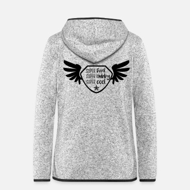 Super Super Dad - Super hubby - Super cool - Women's Hooded Fleece Jacket