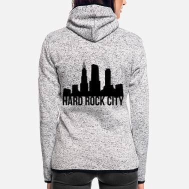 Hard Rock hard rock - Women's Hooded Fleece Jacket